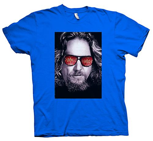 Herren T-Shirt - Bridges - Big Lebowski - Glasses