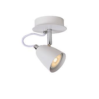 Luz do ponto lucide Ride-LED teto branco moderno redonda de Metal