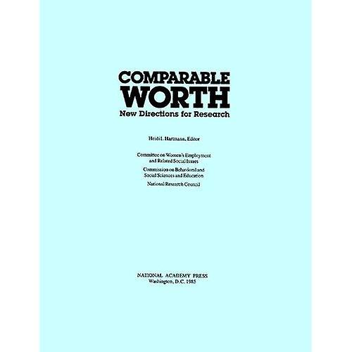 Comparable Worth  New Directions for Research