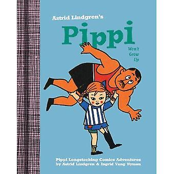 Pippi växa inte upp (Pippi Långstrump Comics)