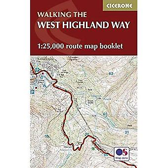 West Highland Way Map Booklet: 1:25,000 OS Route Mapping (British Long Distance Trails)