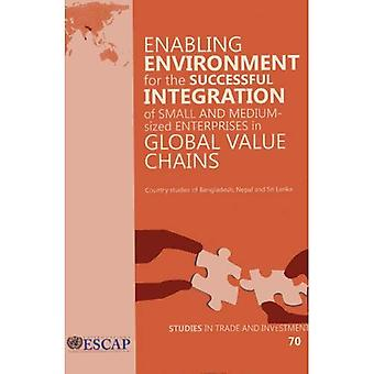 Enabling Environment for the Successful Integration of Small and Medium-Sized Enterprises in Global Value Chains