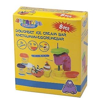 Creatieve 8 stuk Kids Ice Cream spelen deeg Set