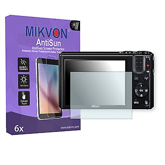 Nikon COOLPIX S7000 Screen Protector - Mikvon AntiSun (Retail Package with accessories)