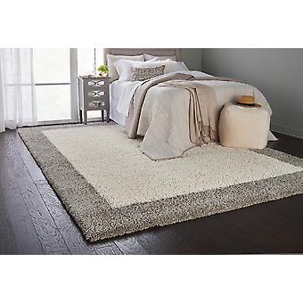 Alfombras de Marfil plata rectángulo alfombras llano casi llano Amore 05