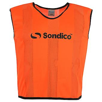 Sondico Unisex 6 Pack Mesh Bibs