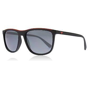 Emporio Armani EA4109 50426G matt svart EA4109 rektangel solbriller linse kategorien 3 nr 57