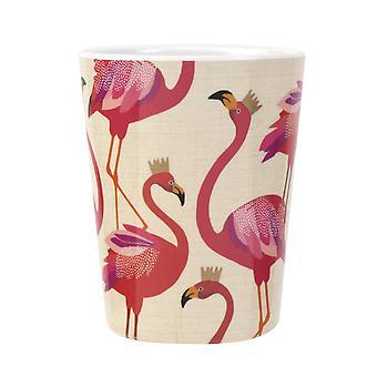 Sara Miller Flamingo Set of 4 Melamine Beakers
