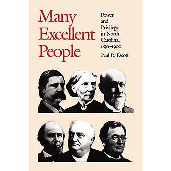 Många utmärkta människor av Escott & s. & D.