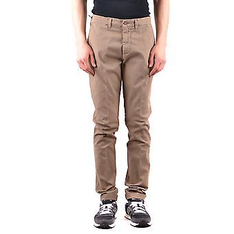 Harmont&blaine Beige Cotton Pants