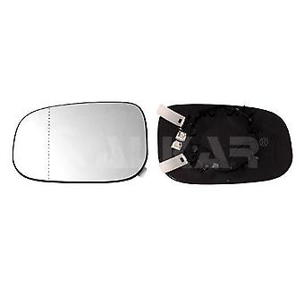 Left Mirror Glass (Heated) & Holder For VOLVO C30 2006-2009
