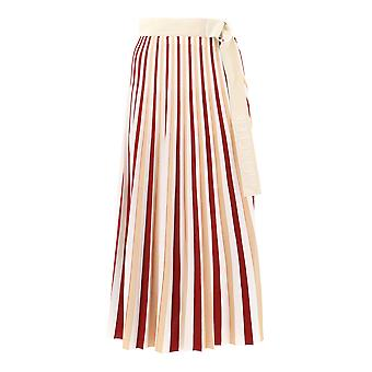 Moncler Genius Multicolor Viscose Skirt