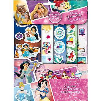 Disney Princess Sticker Set & Sticker Album