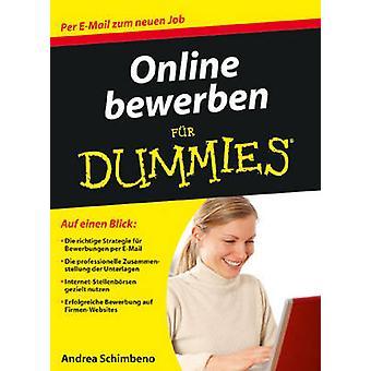 Online Bewerben Fur Dummies by Andrea Schimbeno - 9783527705399 Book