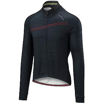 Altura Black-Red 2018 Thermo Lines Long Sleeved Cycling Jersey