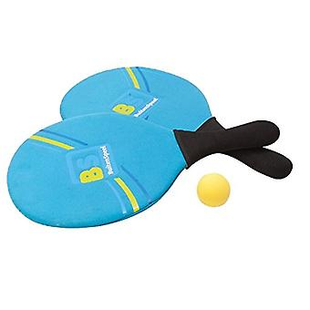 BuitenSpeel Beach Tennis Set - Blue and Green