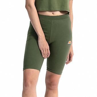 Ellesse Heritage Tour Womens Ladies Fitness Fashion Cycle Short Khaki Green