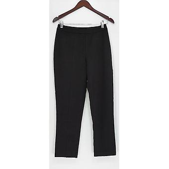 Joan Rivers Classics Collection Women's Pants Ankle Pull-on Black A300856