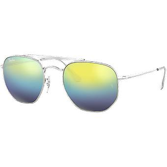 Ray-Ban The Marshal 3648 Silver Blue Degraded Miroité