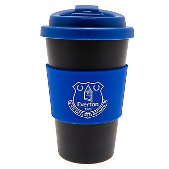 Everton FC Silicone Grip Travel Mug
