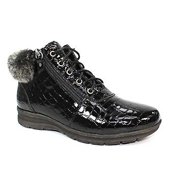 Lunar Betsy Lace Up Boot ankle