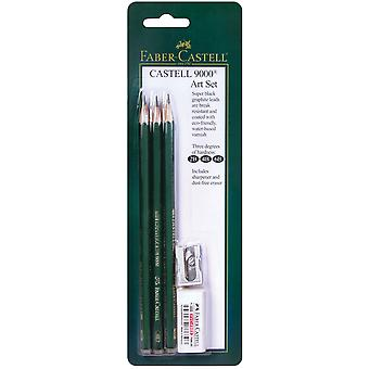 Faber-Castell 9000 Art Set 5pcs-800029