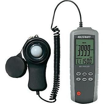 VOLTCRAFT MS-200LED Lux-Meter, illumination measuring device, Brightness meter,