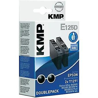 KMP Ink replaced Epson T1291 Compatible Pack of 2