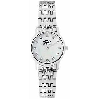 Rotary Womens Mother Of Pearl Dial LB90016/07 Watch