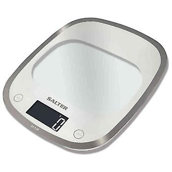 Salter Digital Kitchen Scale, Glass Line, Aquatronic, 5 kg, Black