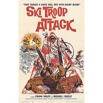 Ski Troop Attack Movie Poster (11 x 17)