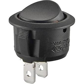 Toggle switch 250 Vac 10 A 1 x Off/On SCI R13-208A2-02 latch 1 pc(s)