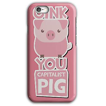 Oink kapitalistiska Pig Farm Life iPhone Case 5/5S 6/6S 6Plus/6SPlus | Wellcoda