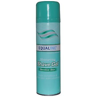 Equaline Shave Gel Moisturising 198ml for Sensitive Skin