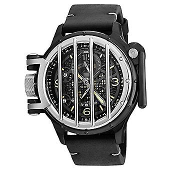 Invicta 20257 Vintage cuarzo multifunción Negro Dial Watch de Men