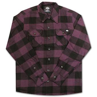 DICKIES Sacramento manches longues flanelle chemise prune