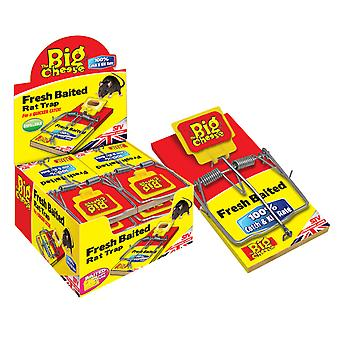 The Big Cheese Fresh Baited Rat Trap (Pack of 6)