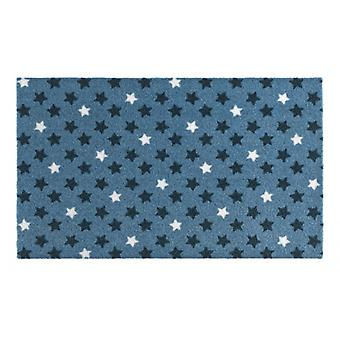 Doormat dirt trapping pad Star mix Blau 50 x 70 cm