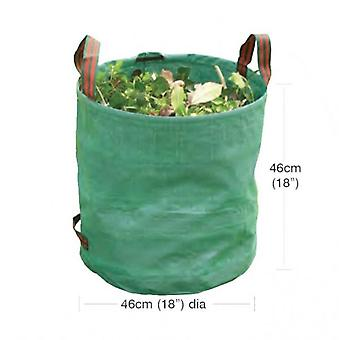 Small Heavy Duty Garden Bag Collecting Rubbish Waste Grass Tidy Sack