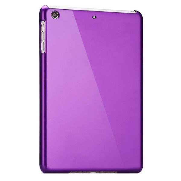 Hardcase glossy purple for Apple iPad air + foil