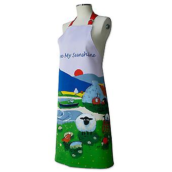 Thomas Joseph Apron, Ewe Are My Sunshine Sheep Design