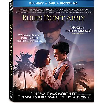 Rules Don't Apply [Blu-ray] USA import
