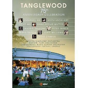 Tanglewood 75: e jubilæum [DVD] USA importerer