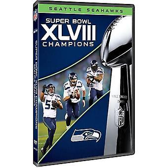Super Bowl Xlviii Champions [DVD] USA importerer