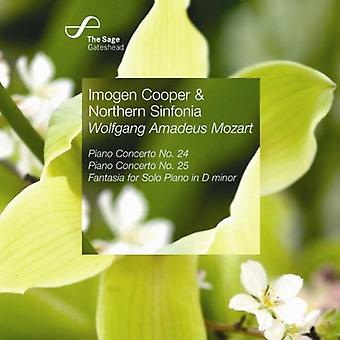 W.a. Mozart - Mozart: Klaverkoncert No. 24; Klaverkoncert No. 25; Fantasia for Solo klaver [CD] USA import