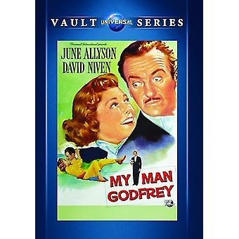 My Man Godfrey (1957) [DVD] USA import