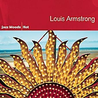 Louis Armstrong - importation USA Jazz Moods-Hot [CD]