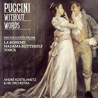 G. Puccini - Puccini Without Words [CD] USA import