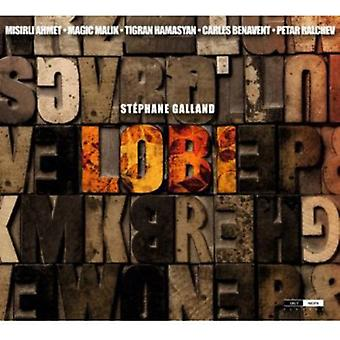 Stephane Galland - Lobi [CD] USA import