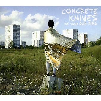Concrete Knives - Be Your Own King [CD] USA import